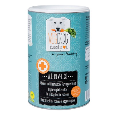 Vegdog ALL-IN VELUXE mineral powder